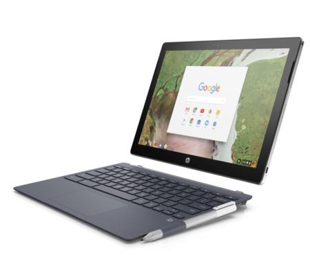 HP présente son x2, premier Chromebook 2-en-1