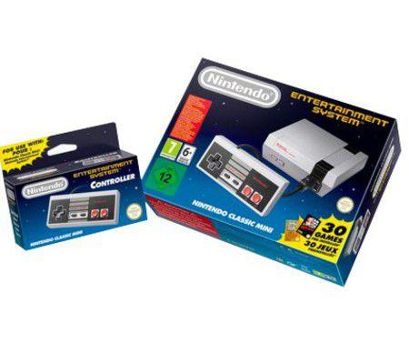 La NES Classic Mini de retour au mois de juin