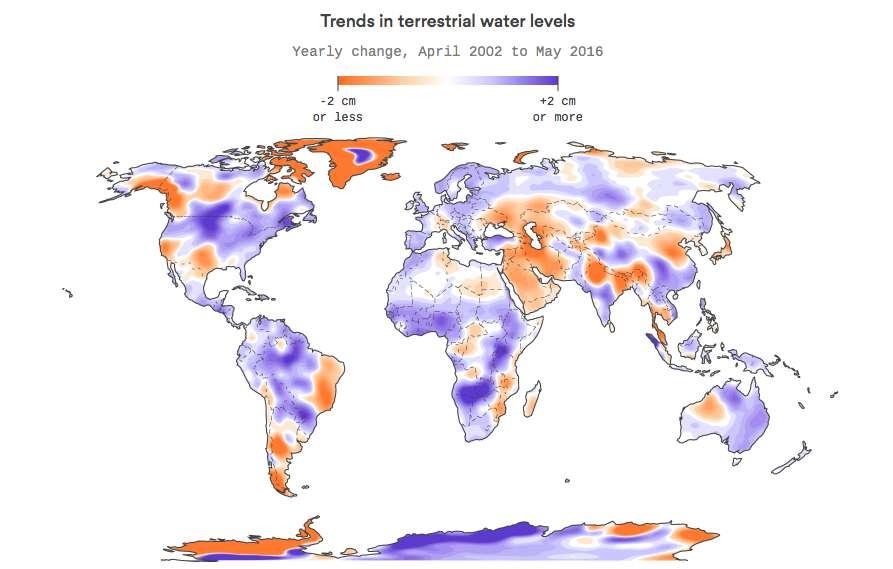 Eau douce : la première carte mondiale des ressources menacées