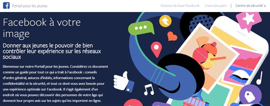 Facebook crée son Portail pour les jeunes