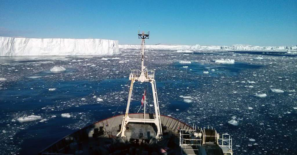 Antarctique : sous la glace, un volcan se réveille après plus de 2.000 ans d'inactivité