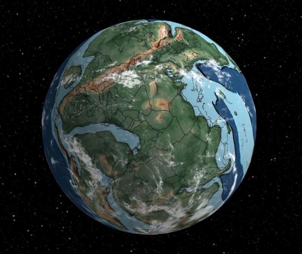 Carte interactive de la Terre: où était votre maison il y a 750 millions d'années ?