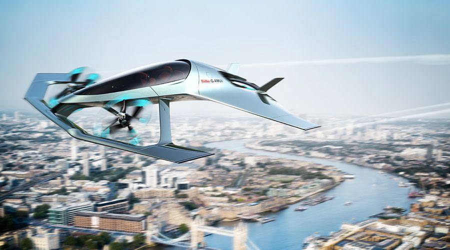 Aston Martin Volante Vision Concept, le VTOL de poche
