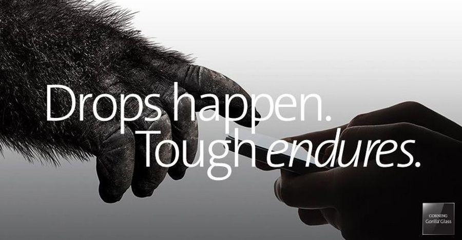 Avec Gorilla Glass 6, Corning pare aux chutes répétées des smartphones