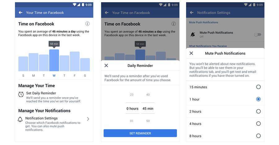 Des outils pour contrôler le temps passé sur Facebook et Instagram