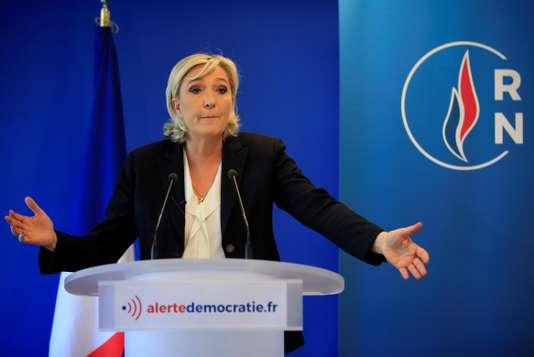 Le RN veut faire annuler la saisie de 2 millions d'euros d'aide publique