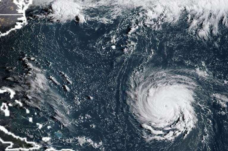 Ouragan Florence : sa terrible course vers les États-Unis vue de l'espace