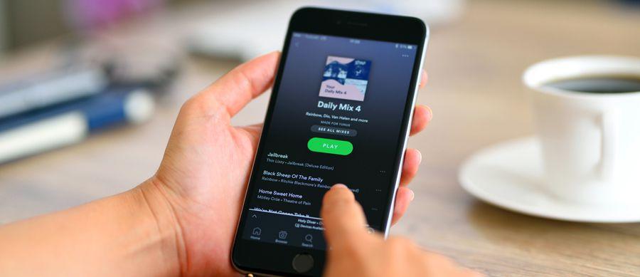 Spotify: jusqu'à 10000 morceaux par terminal