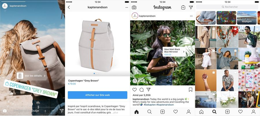 Instagram lance les Stories publicitaires en France