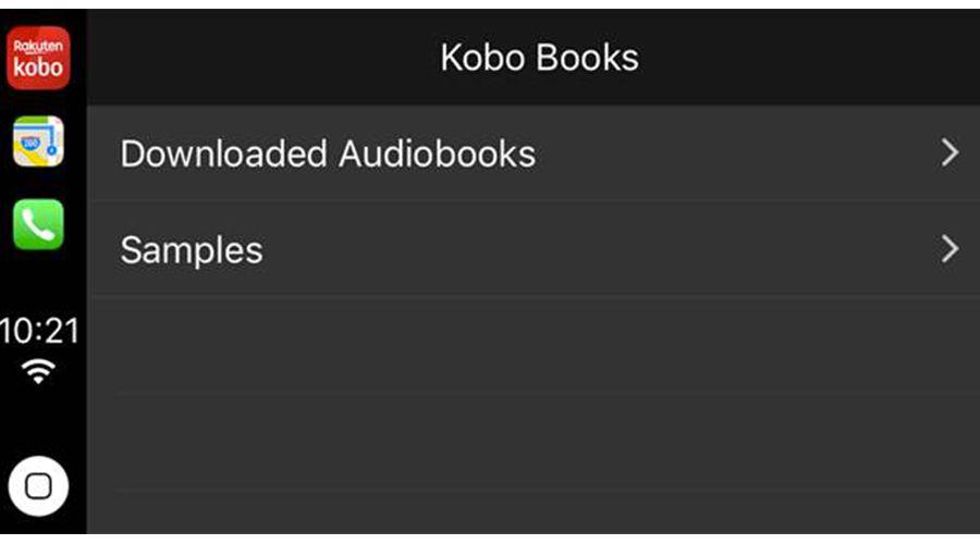 Kobo, le nouveau salon de lecture sur CarPlay