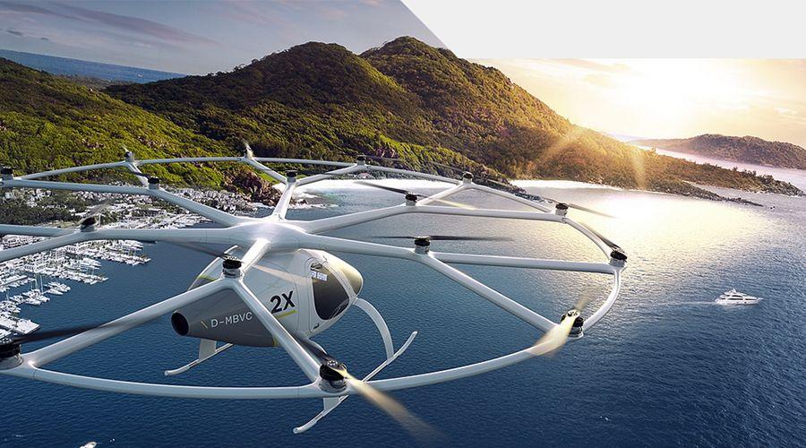 Volocopter va faire voler son ADAV à Singapour