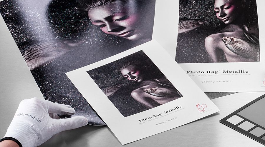 Hahnemühle Photo Rag Metallic : reflets argentés