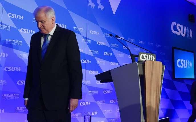 La coalition de Merkel meurtrie après l'échec électoral bavarois