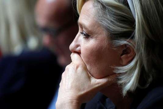 Deux hommes jugés après l'agression de la fille de Marine Le Pen à Nanterre