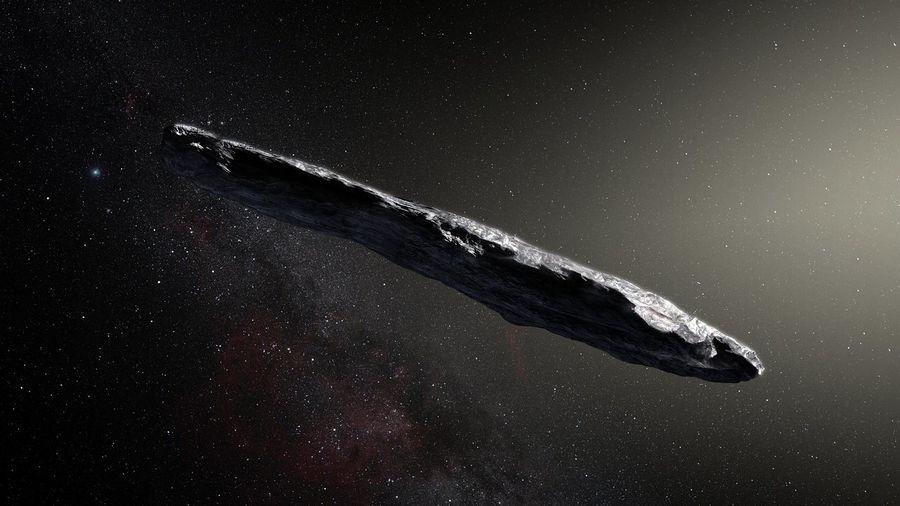 """Théorie """"extraterrestre"""" sur la provenance d'Oumuamua"""