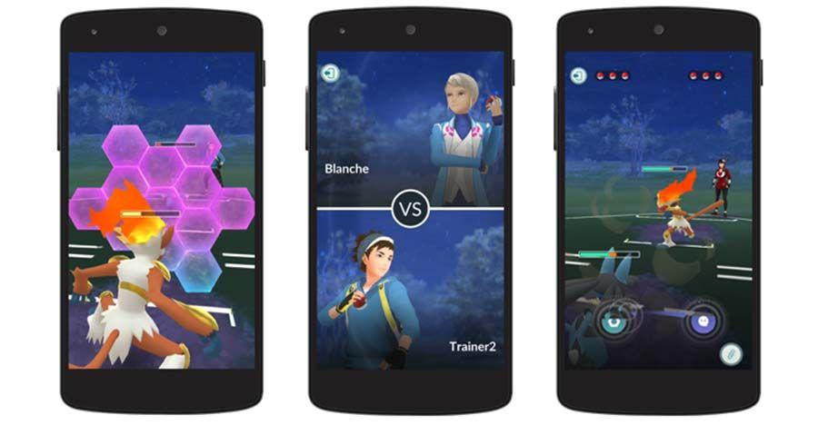 Pokémon GO se met à jour et voit l'arrivée des combats entre joueurs