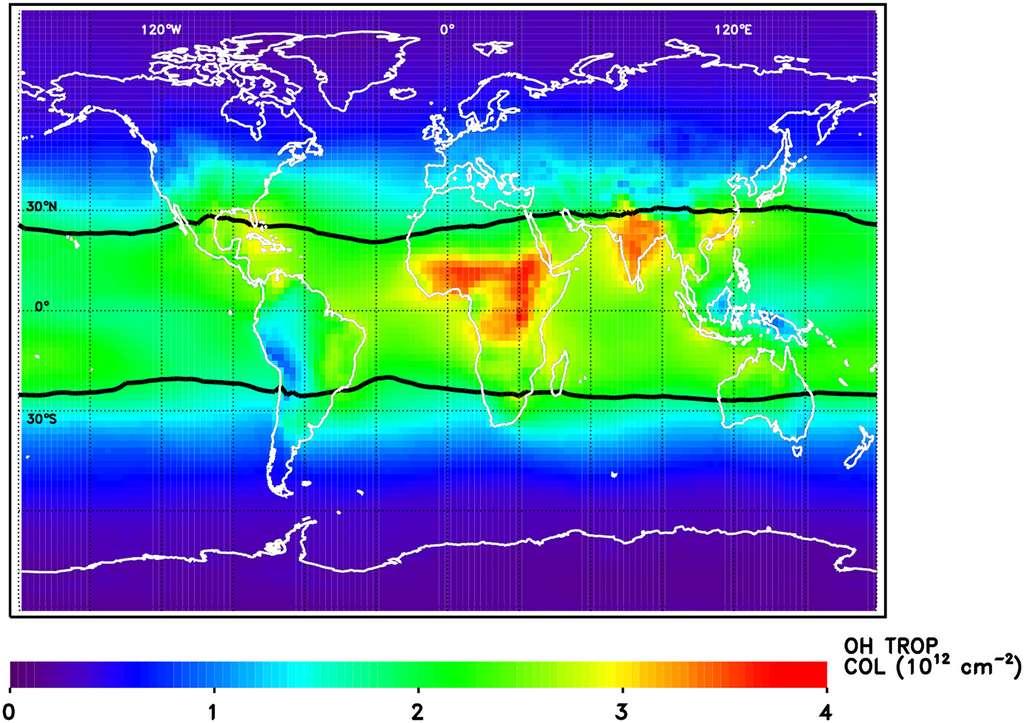 """Réchauffement climatique : la Nasa découvre un """"détergent"""" de gaz à effet de serre"""