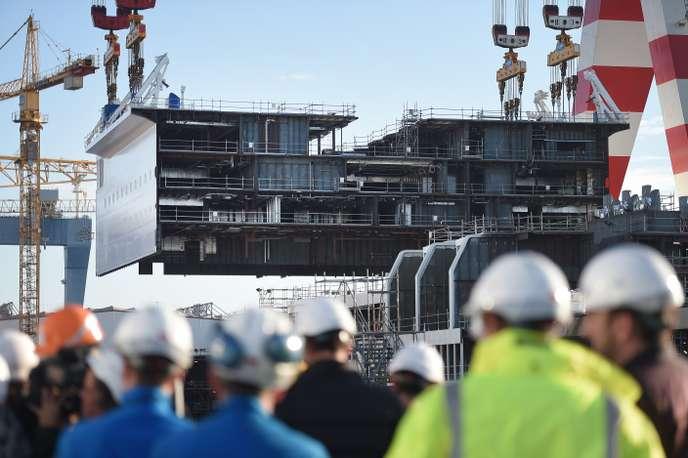 Bruxelles enquête sur la reprise des Chantiers de l'Atlantique par l'italien Fincantieri