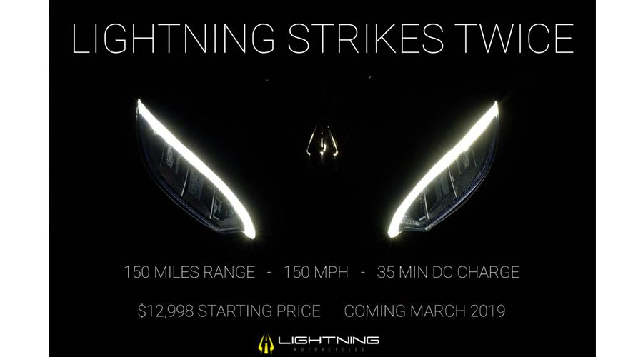 Moto électrique : Lightning Strike, 241 km, 241 km/h, 35 min de charge