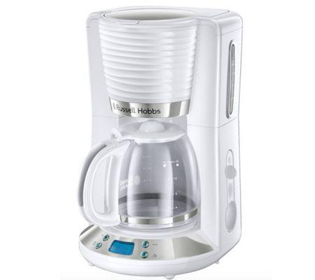 Russell Hobbs Inspire blanc, une cafetière-filtre mesurément inspirée