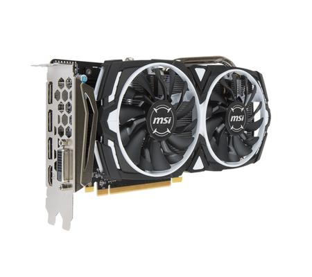La MSI Radeon RX 5708 Go et 2 jeux à 169,90€