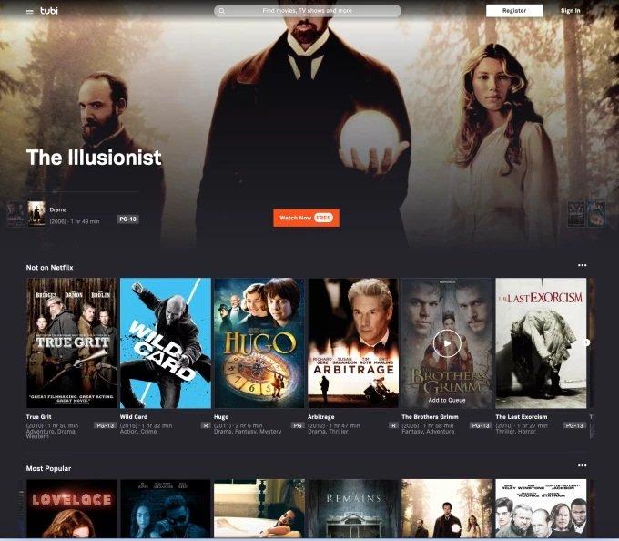 Tubi, le Netflix gratuit, pourrait débarquer chez nous