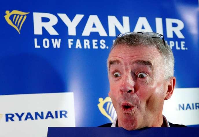 Ryanair: «Quand Michael O'Leary coupe son avion en quatre»