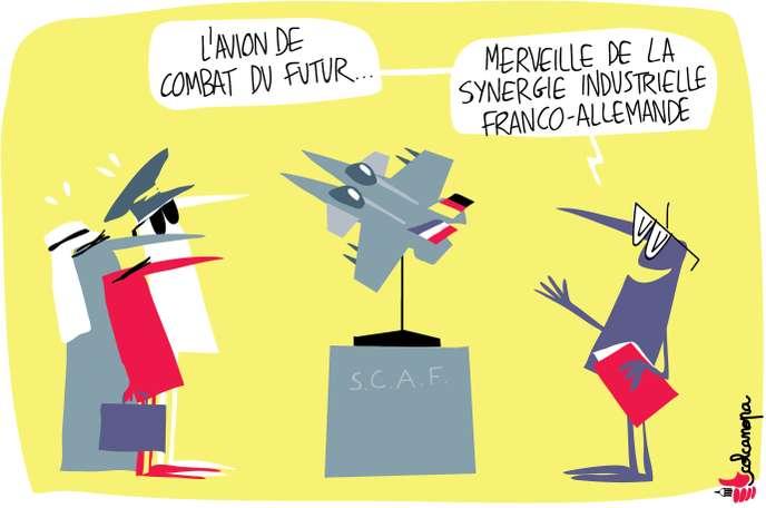 Paris et Berlin lancent l'avion de combat du futur