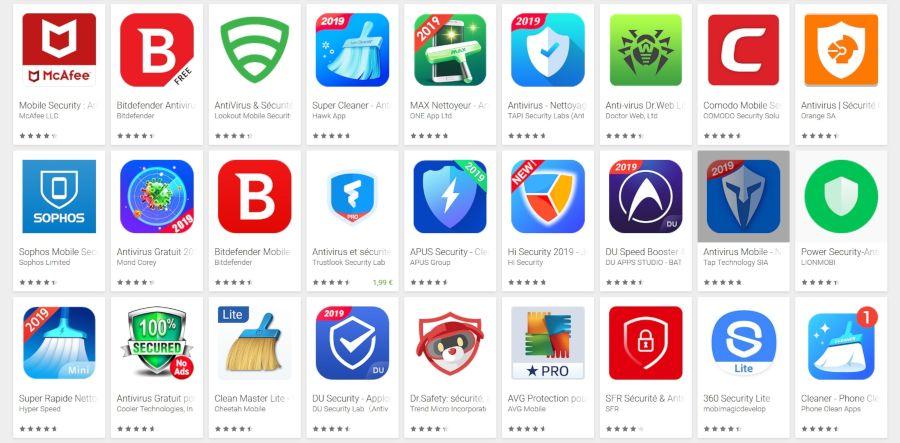 L'étude accablante pour les antivirus sur Android