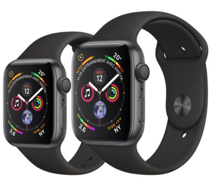 Montre connectée - Apple Watch Series 4 : l'électrocardiogramme