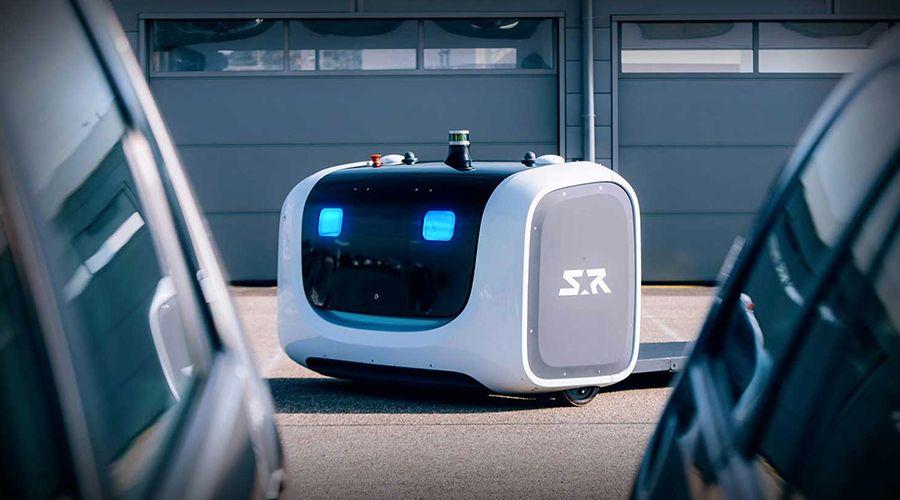 L'aéroport de Lyon-Saint Exupéry s'offre Stanley, un robot voiturier