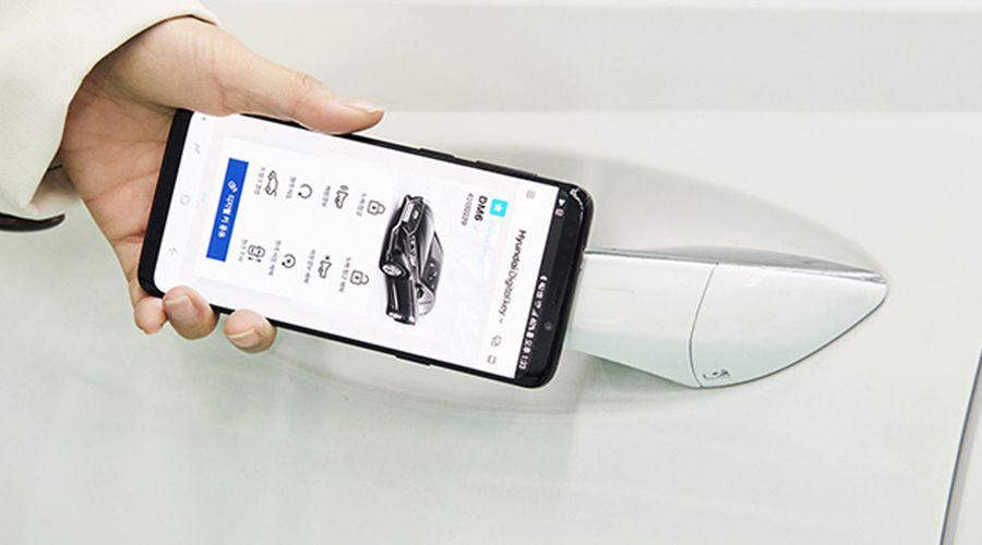 Hyundai adopte le smartphone comme clef numérique