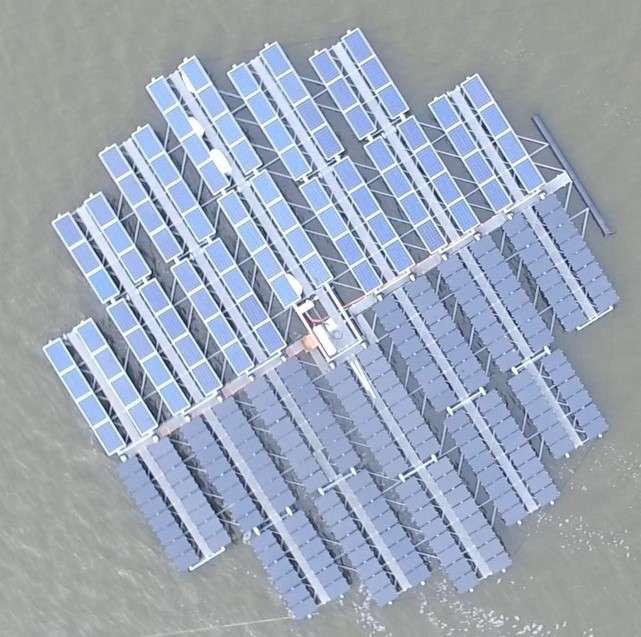 Le plus grand archipel d'îles solaires orientables sera construit aux Pays-Bas