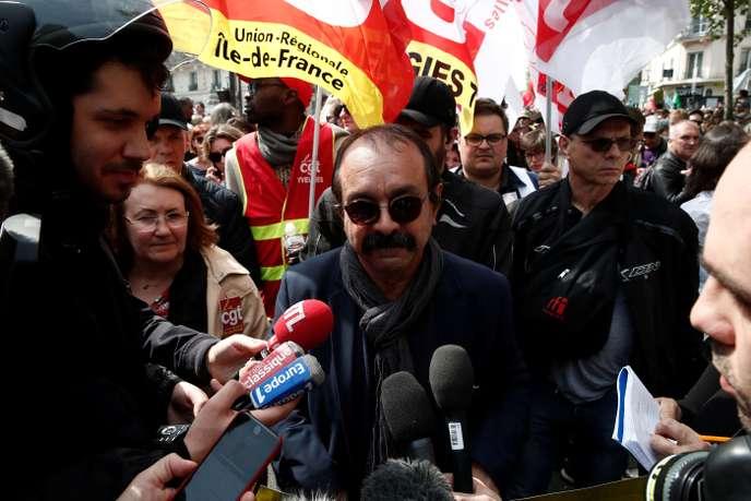 Philippe Martinez affaibli, mais sûr d'être réélu à la tête de la CGT