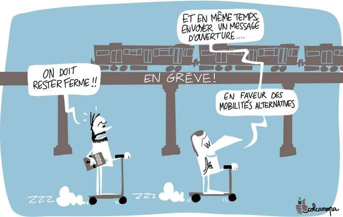A la RATP, la crainte d'une grève dure et durable