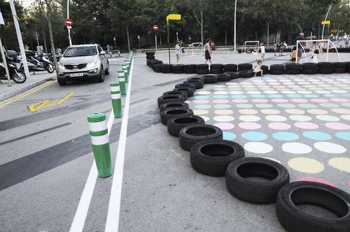 Avec ses «supermanzanas», Barcelone rend l'espace public à ses habitants