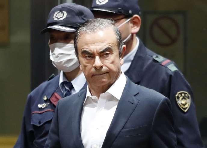 Carlos Ghosn, arrivé au Liban, se dit victime de «persécution politique» au Japon