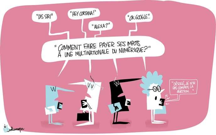 Les négociations sur une «taxe GAFA» mondiale suspendues à la décision des Etats-Unis