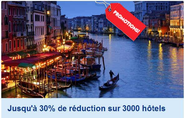 Promo Expedia hotel 3 étoiles à partir de 30 euros