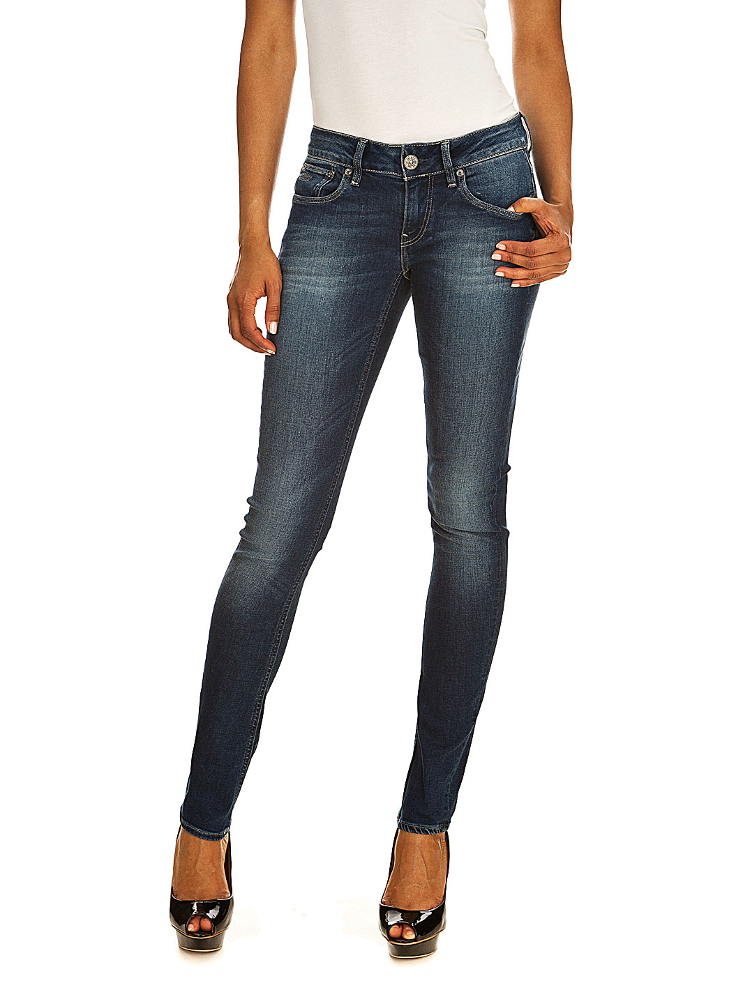 Jeans Femme Sojeans G Star 3301 skinny wmn medium aged