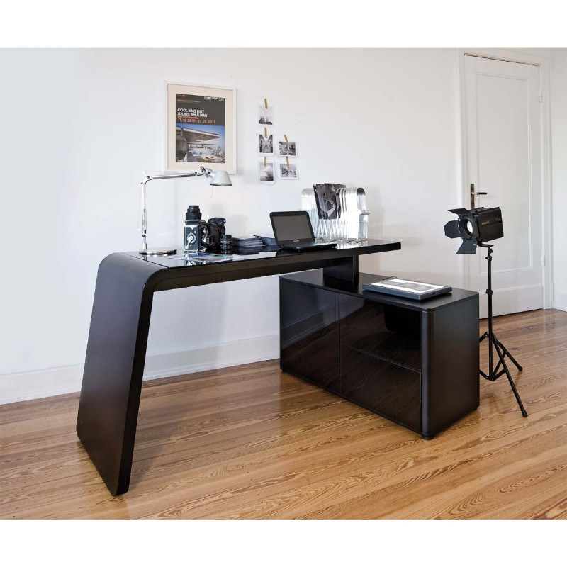 Bureau design sarah atylia bureau design atylia for Meuble informatique d angle