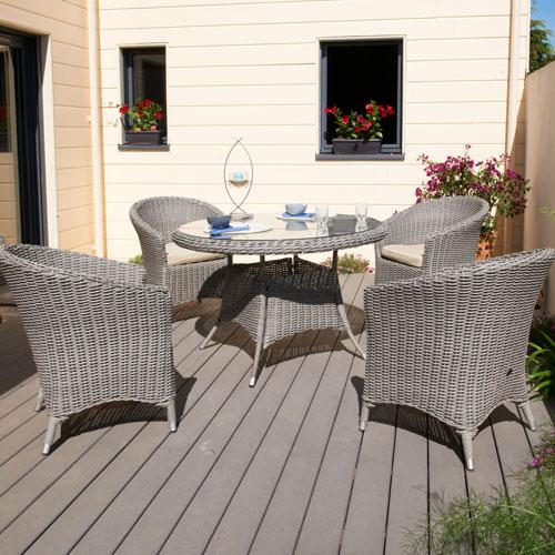 Salon de jardin Decoclico, Salon de jardin Isa DCB Garden - Iziva.com