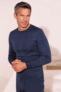 Tee Shirt Damart - Tee-shirt manches longues à plastron Thermolactyl Triple  Chaleur Prix 32 a022aa0b5baa