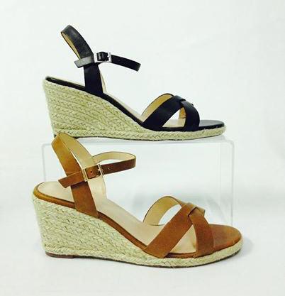 688b4f38c0d Compensées en cuir Vivi Noir Jonak - Chaussures Compensées Monshowroom