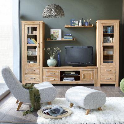 meubles tv 3 suisses meuble tv okyl finition chne blanchi ou teint weng