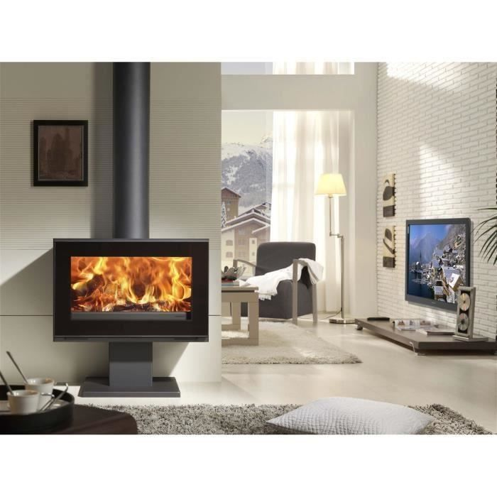 panadero poele a bois maja s 8kw pas cher po le bois priceminister. Black Bedroom Furniture Sets. Home Design Ideas