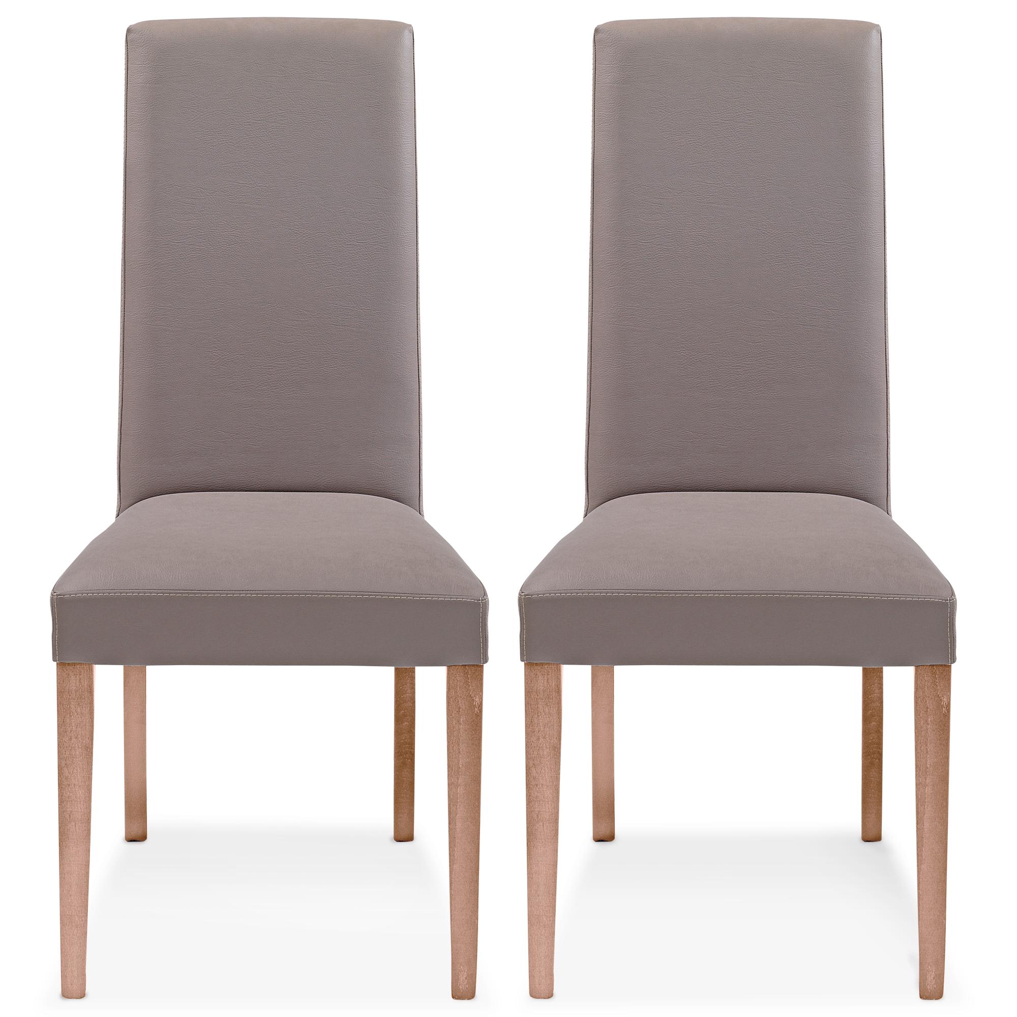 Chaises La Maison de Valerie Lot de 2 chaises Java
