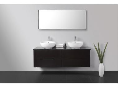 salle de bain usine deco - meuble salle de bain double vasque ... - Meuble Salle De Bain Double Vasque Design Pas Cher
