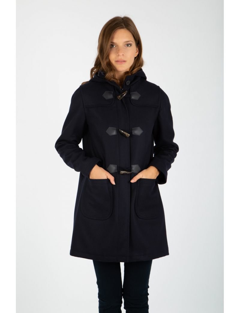 Duffle Coat Concarneau en drap de laine Armor Lux