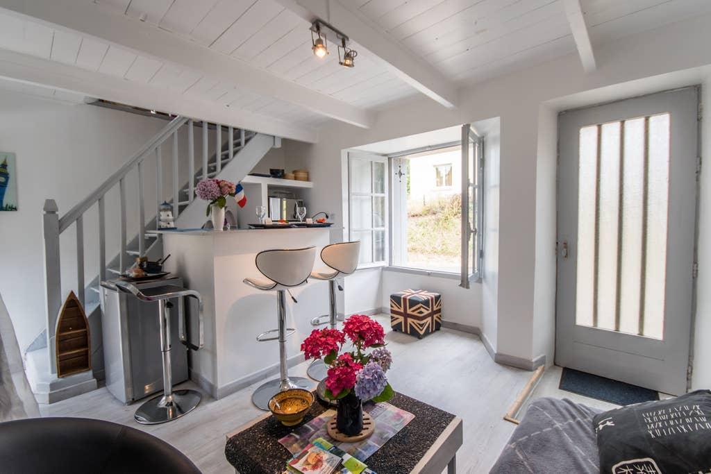 Airbnb - Maisonnette proche d'une belle plage à Étables-sur-Mer dans les  Côtes-d'Armor en Bretagne